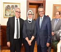 مدير عام منظمة الصحة العالمية يشيد بمنظومة التأمين الصحي الشامل في بورسعيد