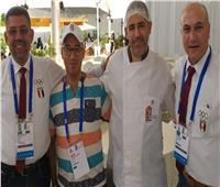 صور| بعثة مصر تكرم العاملين بمقر الإقامة بالرباط بالألعاب الإفريقية
