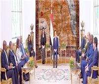 السيسى: البرلمانات الأفريقية تلعب دورا محوريا في تدعيم روابط الأخوة بين أبناء القارة