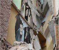 إصابة شخصين إثر انهيار جزء من عقار غرب الإسكندرية