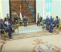 فيديو| تفاصيل لقاء السيسي مع رئيس الجمعية الوطنية التوجولية