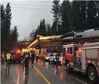 إصابة 27 في خروج قطار ركاب عن القضبان في كاليفورنيا