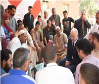 جامعة السادات تطلق مبادرة «حياه كريمه» بعزبة سيدي صالح