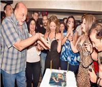 صور| ساندي وإيناس علي تحتفلان بعيد ميلاد رشا عادل