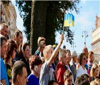 مسيرات فى أوكرانيا احتفالا بعيد الاستقلال رغم إلغاء الاستعراض العسكرى