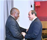 شاهد.. السيسي يستقبل رؤساء السنغال ورواندا وجنوب إفريقيا وبوركينا فاسو