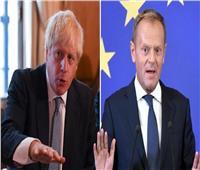 جونسون لتوسك: سنغادر الاتحاد الأوروبي في أكتوبر مهما كانت الظروف