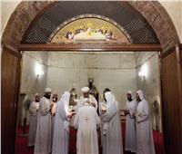 البابا تواضروس يزور دير أبو مقار