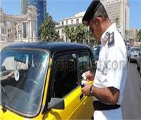 ضبط 2349 مخالفة في حملة مرورية بالإسكندرية