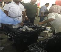 صور|«الصحة» تغلق مصنعا بـ6 أكتوبر وإعدام 1800 كيلو أغذية فاسدة