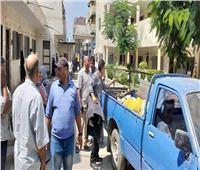 رفع 2262 حالة إشغال طريق بمركز ومدينة إيتاي البارود خلال أسبوع