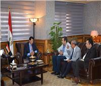وزير الرياضة يبحث مع وكيل «شباب النواب» مستجدات تطوير استاد المصري