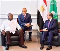 تفاصيل القمة المصرية الأوغندية على هامش مؤتمر التيكاد باليابان