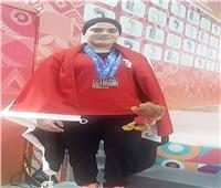 الرباعه المصرية سلمي أحمد تحصد ثلاثةميداليات متنوعه في دورة الألعاب الأفريقية بالمغرب