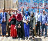 صور| محافظة الإسكندرية تشارك المجتمع المدني الاحتفال بتجهيز 155 عريسا