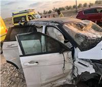 تفاصيل جديدة في تعرض «عمرو زكي» لحادث مروع بطريق الساحل الشمالي