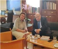 وزيرة الثقافة اليونانية تستقبل الفقي وتؤكد: مصر مصدر ثقافة العالم والحضارة اليونانية استكمال للمصرية