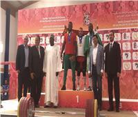 بالفيديو والصور| وزير الرياضة يسلم ميداليات الذهب لرجب عبد الله