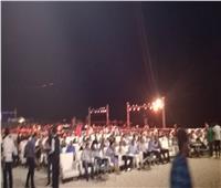 صور| بدء توافد الجمهور على حفل صابر الرباعي بالساحل الشمالي