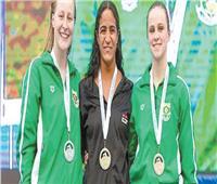 السباحة هانيا مورو: تغلبت على إصابتي.. وحصدت 7 ميداليات بـ«الألعاب الإفريقية»