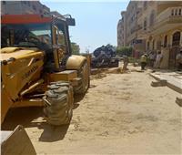 حي المقطم ينجح في إزالة التعديات على أملاك الدولة