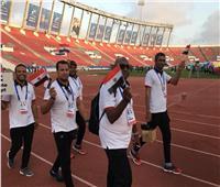 حفل مبسط لختام دورة الألعاب الإفريقية بالمغرب