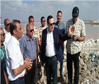محافظ الإسكندرية يتفقد أعمال الإنشاءات بالوكالة الجديدة للخضر والفاكهة بالعجمي