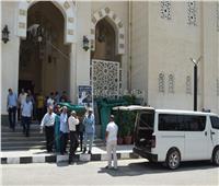 صور| تشييع جنازة والدة أحمد نظيف رئيس الوزراء الأسبق