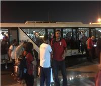 صور| بعثة الألعاب الأفريقية تصل القاهرة بعد تحطيم رقم قياسي بالبطولة