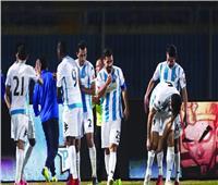 نصف نهائي كأس مصر| بيراميدز يتقدم بهدفين على بتروجيت في الشوط الأول