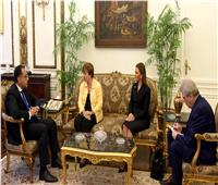 رئيس الوزراء يستقبل كريستالينا جورجيفا المرشحة لمنصب مدير عام صندوق النقد الدولي