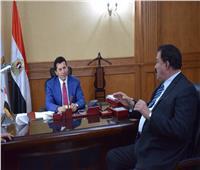 وزير الرياضة يستقبل رئيس الاتحاد المصري للجودو