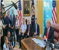 فيديو| ترامب: لن نتراجع عن العقوبات المفروضة على إيران