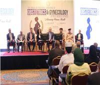 مايا مرسي تشارك الجلسة الافتتاحية للمؤتمر الدولى الثانى لأمراض النساء والتوليد