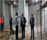 صور| وزير التعليم العالي يتفقد أعمال تطوير «مستشفى 185 للطوارئ»