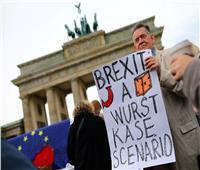 احتجاج في وسط برلين على خروج بريطانيا من الاتحاد الأوروبي دون اتفاق