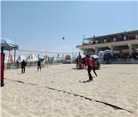 جامعة جنوب الوادي تشارك في مهرجان الكرة الشاطئية