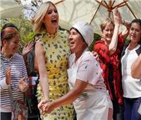 صور| في جولتها بأمريكا الجنوبية.. «إيفانكا ترامب» تناقش تمكين المرأة