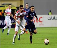 نهائي كأس مصر| انطلاق مباراة الزمالك وبيراميدز
