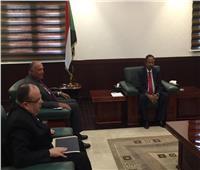شُكري يلتقي رئيس وزراء السودان في أول زيارة رسمية بعد تشكيل الحكومة الجديدة