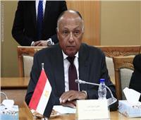 سامح شكري يعود إلى القاهرة قادما من الخرطوم