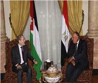 وزير الخارجية سامح شكري يستقبل نظيره الأردني