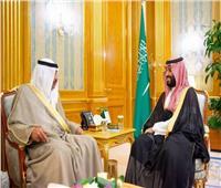 ولي العهد السعودي يلتقي وزير الخارجية الكويتي