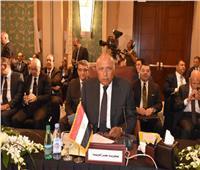 وزير الخارجية يشدد على النأي بليبيا عن فوضى الميليشيات
