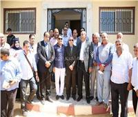 افتتاح مشروعات بتكلفة ٣٦ مليون جنيه في كفر الشيخ