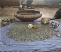 ضبط شخص بحوزته 295 قطعة أثرية بقصد الاتجار بالمنيا