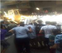 صور| مصرع اثنين وإصابة آخرين في سقوط ميكروباص من أعلى صفط اللبن