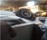 مصرع شخصين وإصابة ٤ آخرين في حادث تصادم بأسيوط