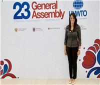 وزيرة السياحة تلتقي الرئيس التنفيذي للمجلس الدولي للسياحة والسفر WTTC