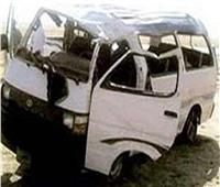 إصابة 10 أشخاص في انقلاب سيارة بالشرقية